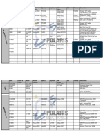 Sailor Products Cross Ref List