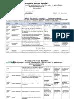 Carta Descriptiva 2a. Sesión Ordinaria 2014-2015