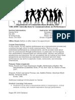 syllabus ori 2000 section 901 spring 2014