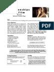 syllabus - relon film - penultimate