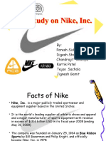 nike inc strategic case study Free case study solution & analysis | caseforestcom nike sweatshops nike is the largest seller of athletic footwear and apparel in the world.