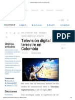 Televisión Digital Terrestre en Colombia_ Guía