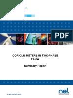 2 Phase in Corioilis Flowmeter 2011_142
