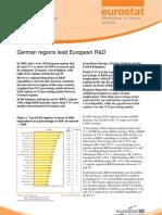 Eurostat - Statistics in focus 35/2009 - German regions lead European R&D
