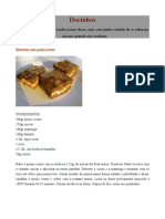 Cozinha Trivial Docinhos