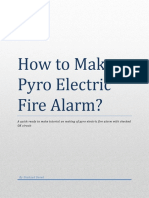 Fire Alarm based on Pyro Electric