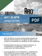 Presentación ARO 26 MTB