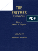 The Enzymes, Mechanisms of Catalysis- David S. Sigman