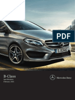 B Class Specifications 02-2015 4