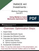 Matlab Port Opt