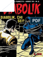 Diabolik, Chi Sei