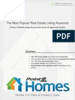 The Most Popular Realestate Listing Keywords in 2012
