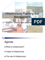 Infrastructure Planing & Management