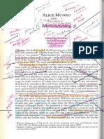 Munro Meneseteung Annotated