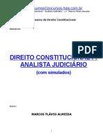 Direito Constitucional Analista TRT