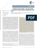 Formamidinium Lead Trihalide a Broadly Tunable Perovskite for Efficient Planar Heterojunction Solar Cells