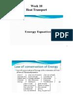 5. Energy Equations.