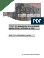 ET232 Materiaux Introduction