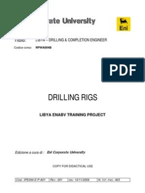 RIG BOOK   Drilling Rig   Pump