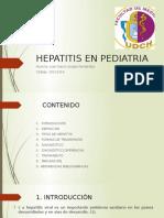 [III - Unidad] Hepatitis en Pediatria