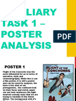 Auxiliary Task 1 – Poster Analysis