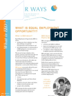 What is Equal Employment Opportunity