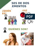 Frases- 2 Elementos