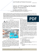 Performance Analysis of 5-D Coupling for Parallel Angular Transmission