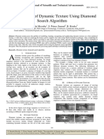 Decomposition of Dynamic Texture Using Diamond Search Algorithm