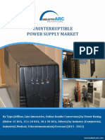 Uninterruptible Power Supply Market Strategic Analysis and Market Trends 2021