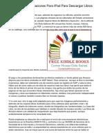 Mejores ocho Aplicaciones Para IPad Para Descargar Libros Electrónicos