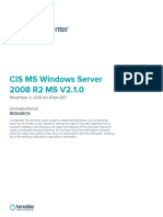 CIS MS Windows Server 2008 R2 MS V2.1.0