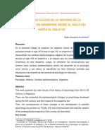 Historia de La Psicologia en Argentina