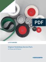 Manual Heidelberg Press Spare Parts Cataloque