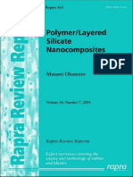Polymer Layered Silicate Nanocomposites