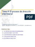 TEMA 4. La Direccion-2