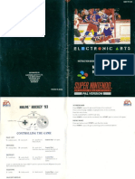 NHLPA Hockey 93 SNES