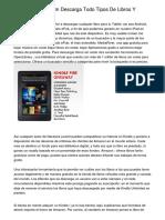 Sololibrosenpdf.com Descarga Todo Tipos De Libros Y Gacetas Sin coste