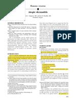 Guidelines - Atopic Dermatitis