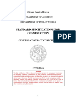 General Contract Conditions