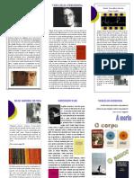 Folheto Biográfico - Vergílio Ferreira