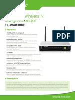 TL WA830RE Datasheet