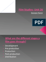 film studies- unit 26