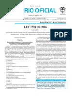 Diario oficial de Colombia n° 49.774 02 de febrero de 2016