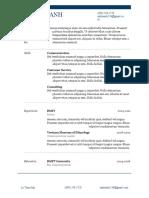 CV Simple ForEveryone