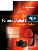Forensic Dental Evidence - An Investigator's Handbook 2nd Ed. - C. Bowers (AP, 2011) WW