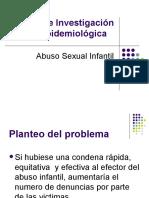 Trabajo de Investigación Epidemiológica