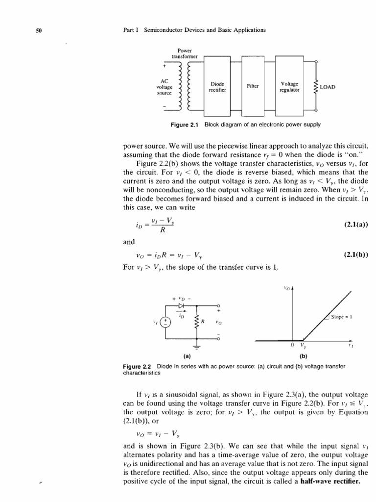 Buku Dioda Rectifier Diode Electronic Make It Easy Circuit And Reservoir