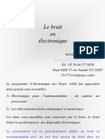 Transparents Bruit M2 CSA