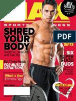 FEBRUARY 2016 ISSUE MAX SPORTS & FITNESS MAGAZINE